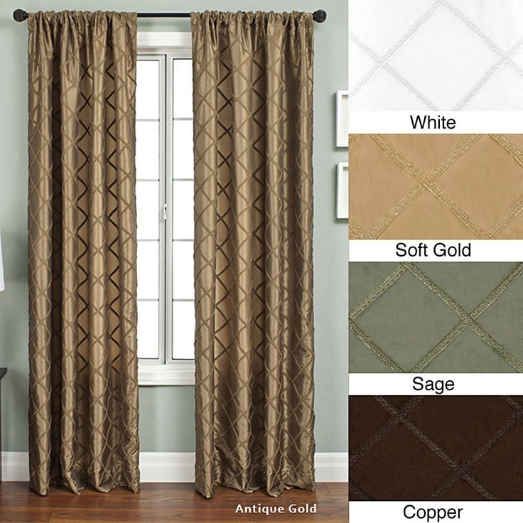57 best Curtains images on Pinterest | Rod pocket, Window ...