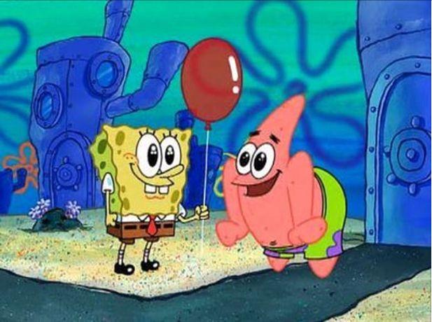 SpongeBob & Patrick (with Balloon)