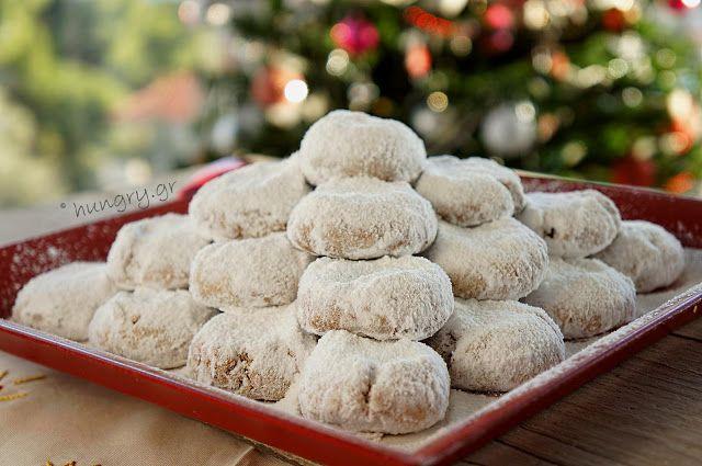 Kitchen Stories: Kourabiedes: Greek Christmas Butter Cookies