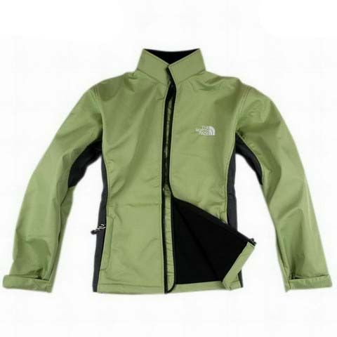 Womens The North Face Schoeller 3XDRY Jacket Green