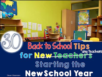 Back to school tips for the new year.