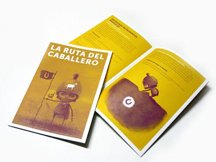 Cartilla / La Ruta del Caballero. Diseño gráfico: Tangrama Gráfica.  Ilustraciones: Ricardo Zokos.  Bogotá, 2013.