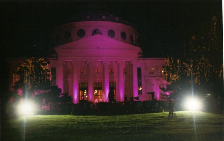 """""""In October wear pink, the symbol of hope"""" . Every year on the 1st of October many important monuments and buildings in cities around the globe are iluminated in pink, as a symbol of ho…"""