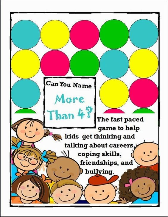 Can You Name More Than 4? A Game To Get Kids Thinking | The Middle School Counselor | Bloglovin'. Great for a lunch bunch or small group.