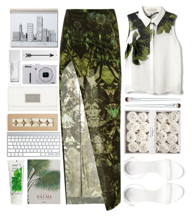 """Gethsemane"" by junotsalis ❤ liked on Polyvore featuring Helmut Lang, Liz Earle, Zara, Marc by Marc Jacobs, Postalco, Nikon, NARS Cosmetics, Rosanna, Taschen and Korres"