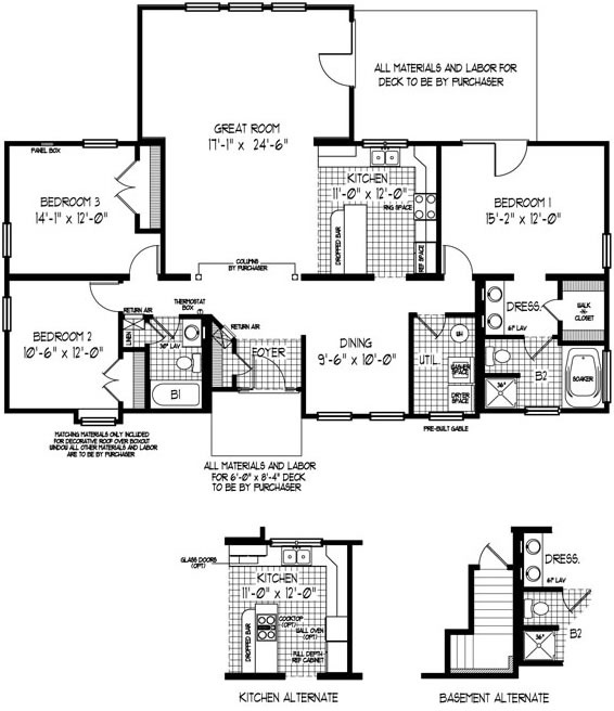 69 Best Images About One Floor Ranch Bungalow Plans On