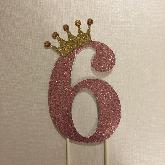Princess cake topper di Fancymycupcake su Etsy