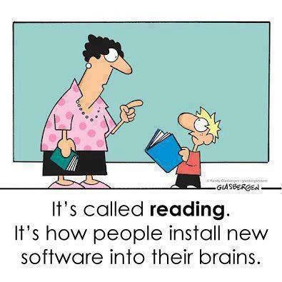 Install some fun new software in a child's brain, read for 20 minutes together.