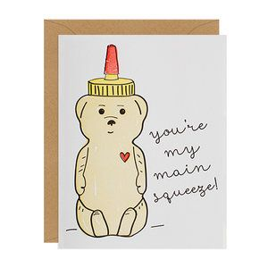 Main Squeeze Greeting Card from Inclosed Letterpress Co.