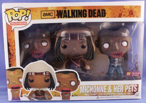 2013 Walking Dead Michonne & Her Pets Glow in The Dark – PX Previews Exclusive – Limited!!! http://popvinyl.net #funko #funkopop #popvinyl #wackywobblers