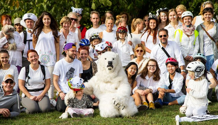 Glada deltagare på #IceRide #Stockholm