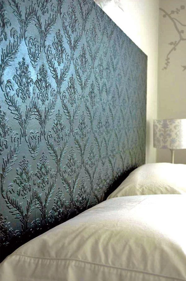 10 Textured Wallpaper Projects