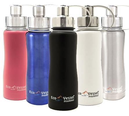 The Triple Insulated Bottle with Screw Cap – 500ml is perfect for making sure you keep hydrated wherever you are. Featuring Eco Vessel's Trimax® triple insulation technology for maximum performance, these bottles keep your cool drinks cold for up to 36 hours, and hot drinks steaming for up to 8 hours. Shop here: http://shop.rawblend.com.au/boulder-triple-insulated-bottle-with-screw-cap-500ml-eco-vessel/