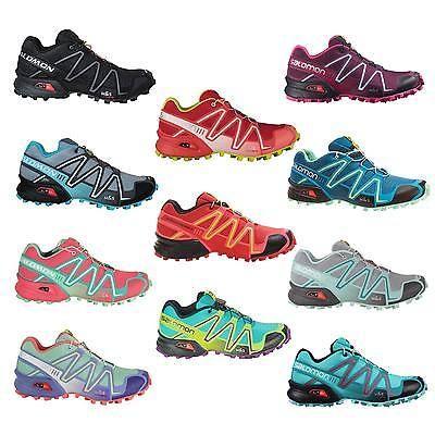 Salomon Speedcross 3 Damen-Laufschuhe Outdoor Running-Cross-Schuhe Hiking NEU
