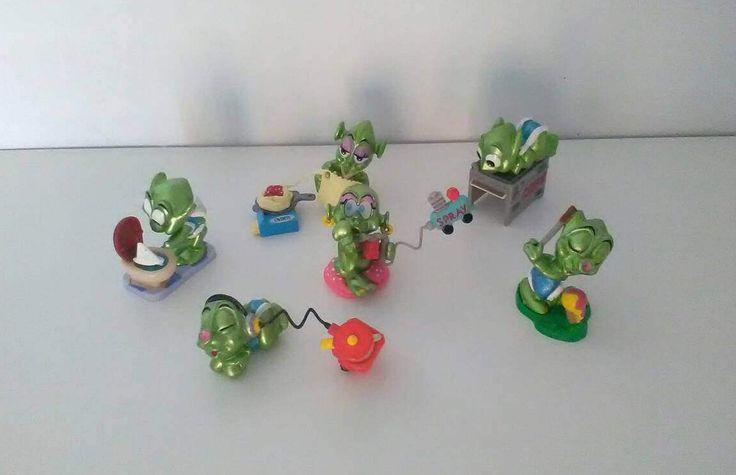 Stranulati 10 Extraterrestri Kinder Ferrero / Ovetto kinder ferrero / Kinder sorpresa di VintaFai su Etsy