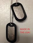Military Dog Tag Styles by Branch of Service