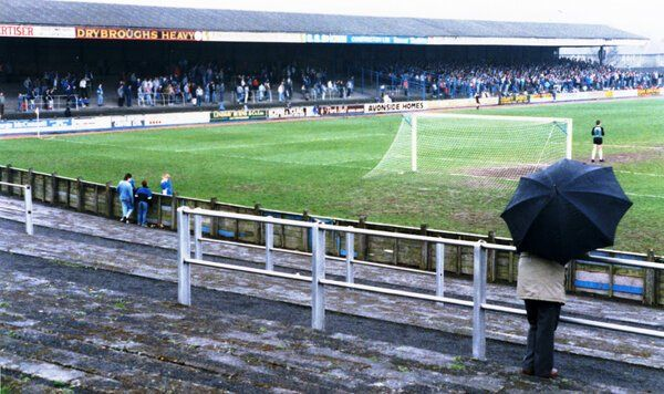 Muirton Park, Perth: Former home of St Johnstone FC. (1988)