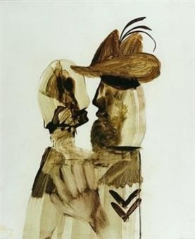 Corporal and Girl, Gallipolli By Sidney Nolan ,1961