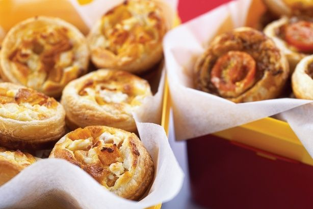 Whether they're for a light lunch or finger food at a cocktail party, these little beauties will go down a treat!
