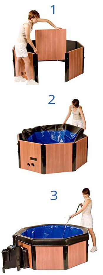 Spa-N-A-Box Portable Spa - Spa N A Box Hot Tub - Spa In A Box - Allegro Medical Supplies