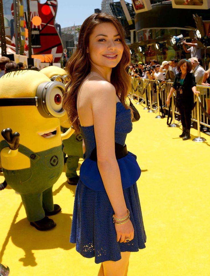 "Despicable Me 2 Lucy Hot | ... Miranda Cosgrove – ""Despicable Me 2″ premiere in Universal City"