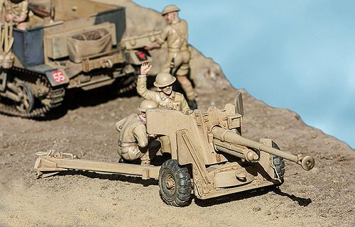 6 Pdr Anti-tank, North Africa