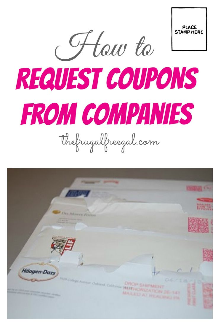 Writing companies for coupons