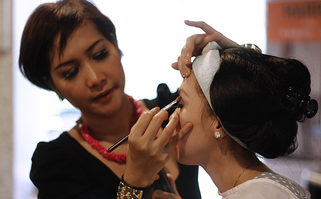 Beauty Class by Dinda Nawangwulan @ Entrepreneur Festival 2013