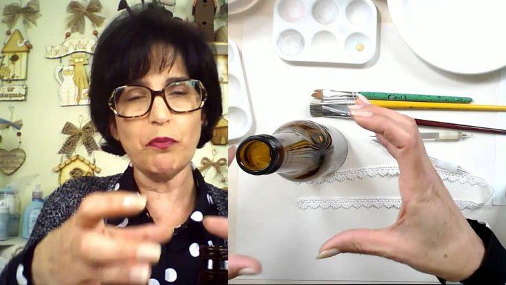 AO VIVO-Duna Atelier - Pintando com o  #4- Pintura Country Em Vidro seg-27/06/2016