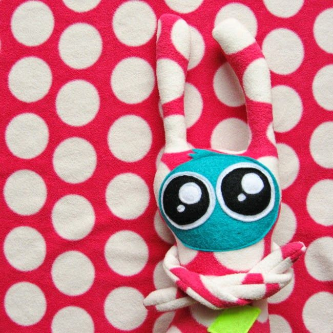 lukola handmade: Cudny cudak // Sweet cute plush toy