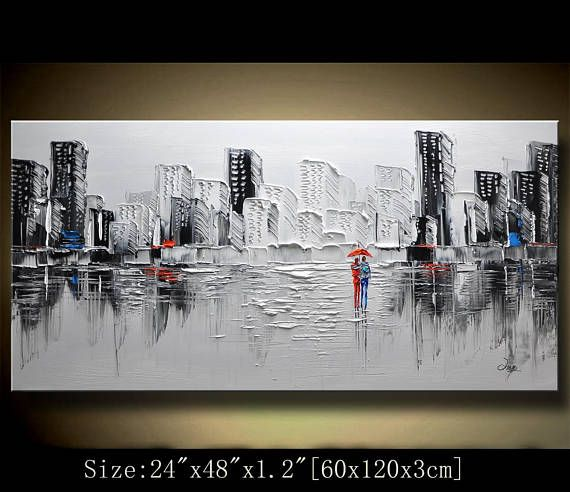 164 best Art images on Pinterest Painting art, City and Abstract art