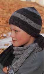 Muts en sjaal voor jongens