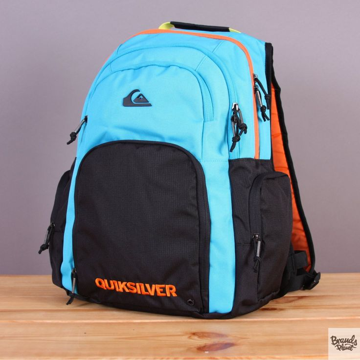 Pakowny plecak szkolny, turystyczny 34l Quiksilver 1969 Special Cyan Reef / www.brandsplanet.pl / #quiksilver backpack