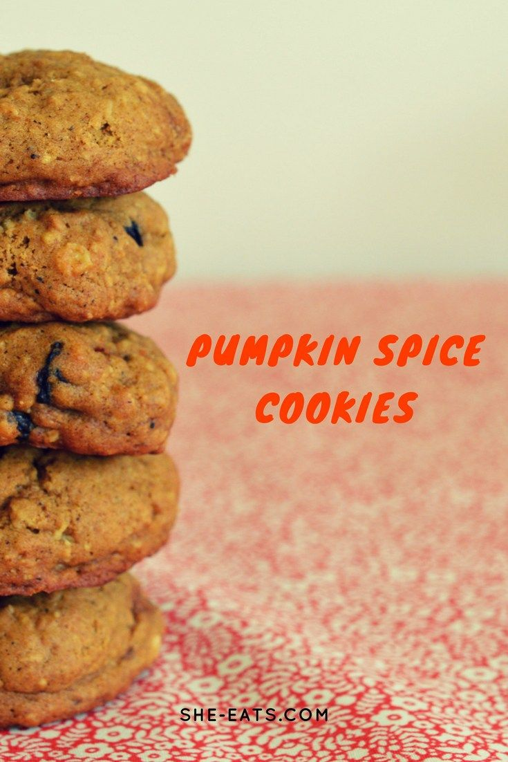 Pumpkin Spice Cookies / SHE-EATS.com