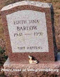 Headstone Inscriptions | Tombstone Sayings including famous last words and death bed sayings