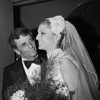 Actor Peter Falk and actress Shera Danese were married December 7, 1977 until his death on June 23; 2011.