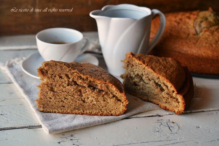 Torta al caffe caldo un dolce da colazione e merenda sofficissimo