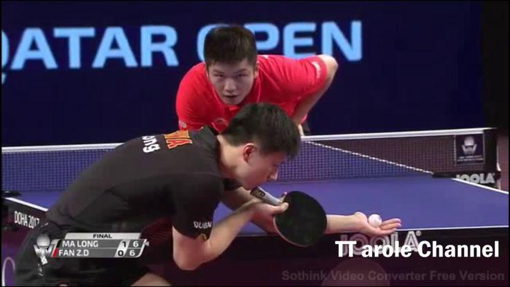 Table Tennis | MA Long Vs FAN Zhendong | FINAL Qatar Open 2017 | Match H...