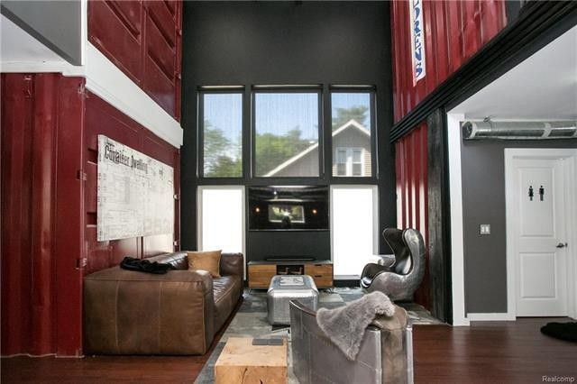 Royal Oak Shipping Container House Container House Plans