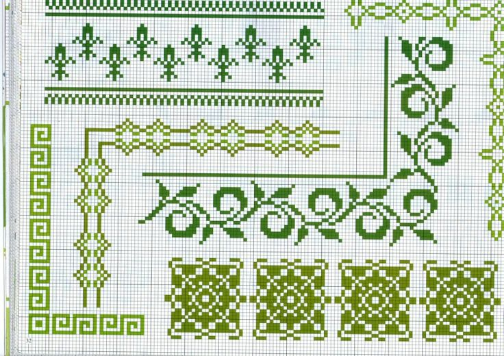 Gallery.ru / Фото #30 - BORDURY - KIM-2 Use block layout for textured stitches sampler