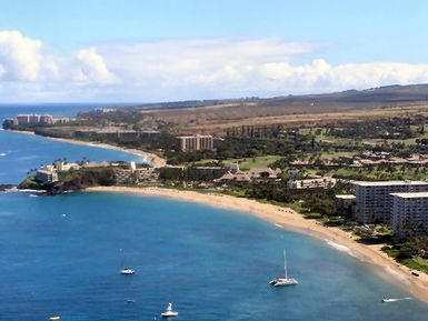 Black Rock, Sheraton Maui Resort, Kaanapali Beach Hotel and the Whaler Condominium - Kaanapali Beach, Maui