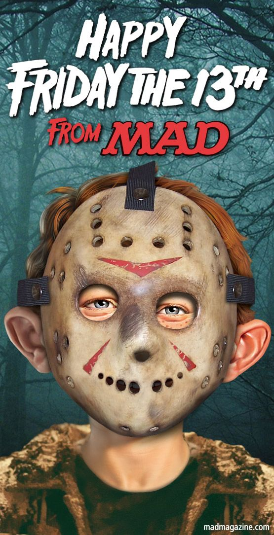mad magazine the idiotical slasher films flicks horror Idiotical Originals, Friday the 13th, Jason Voorhees, Movies, Holidays, Alfred E. Neu...