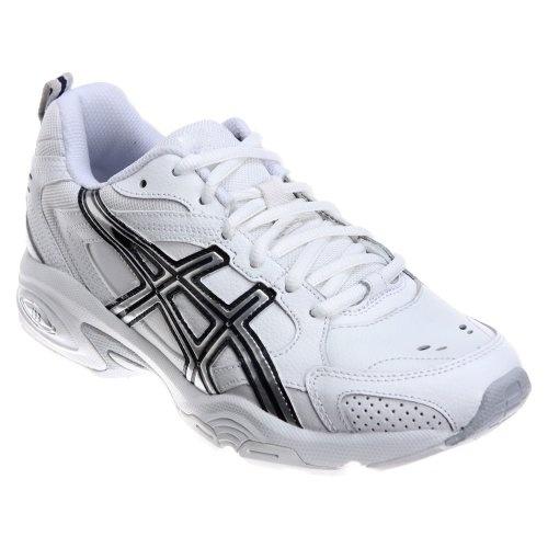 ASICS Women's GEL-TRX Training Shoe,White/Silver/Navy,6 M