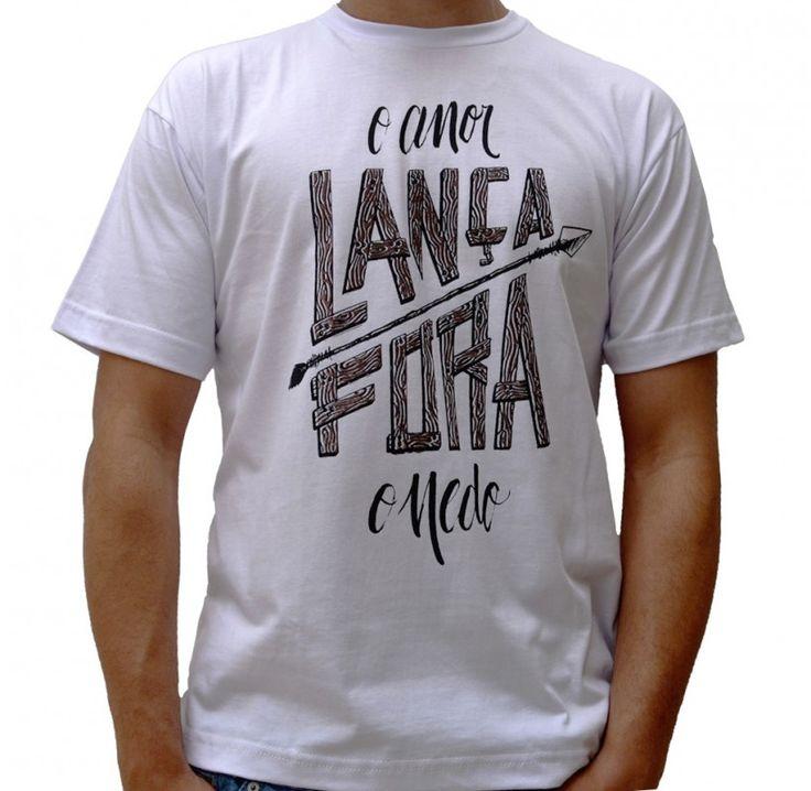 Camiseta Lança Fora (Branca) - Loja Virtual Gospel Goods                                                                                                                                                      Mais