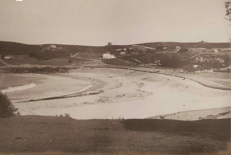 Coogee Beach in south eastern Sydney in 1885.