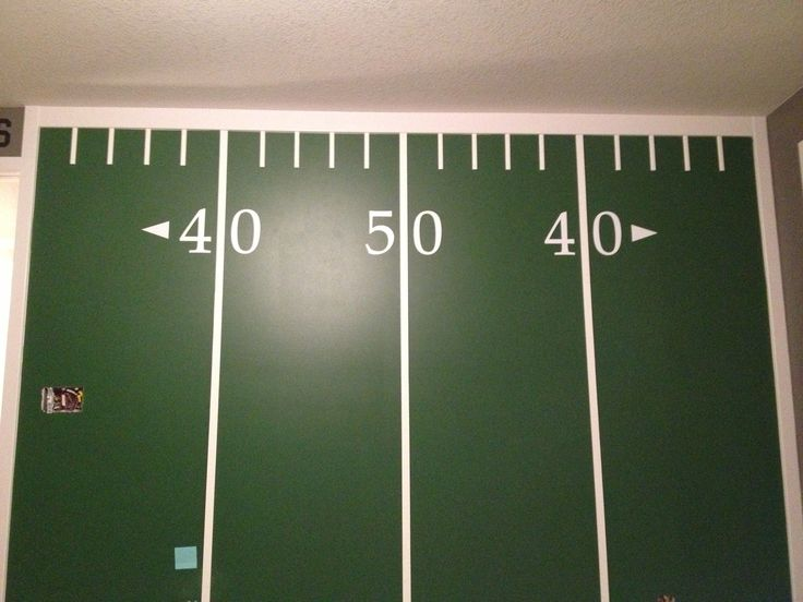 Football Field Wall Part 66