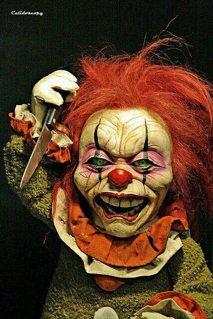 39 besten clowns bilder auf pinterest b se clowns monster und zeichnungen. Black Bedroom Furniture Sets. Home Design Ideas