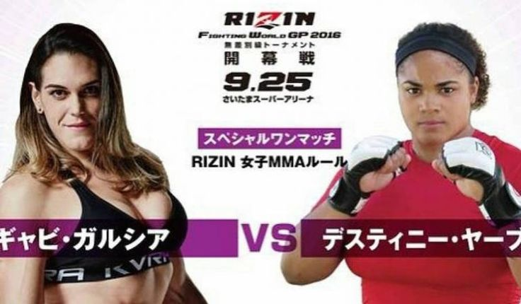 Gabi Garcia's Next Opponent Is A Massive Female Football Player With Fight…
