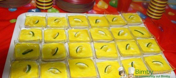 Bavarese al limone Bimby - Ricette Bimby