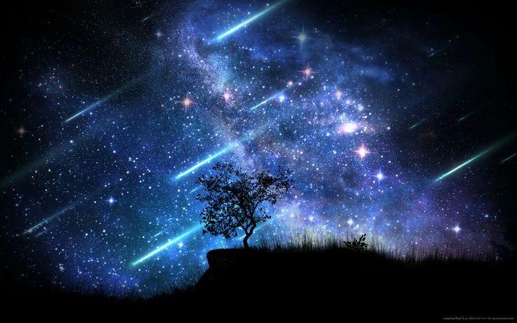Some kisses feel like a storm of falling stars.